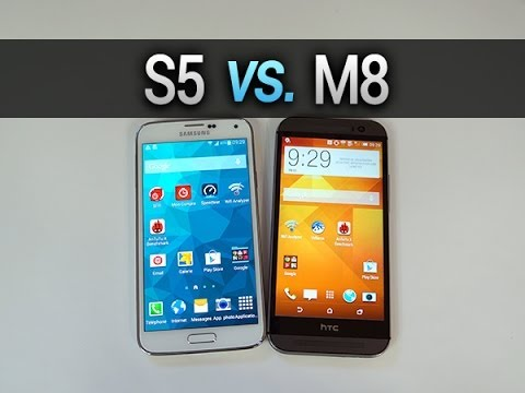 samsung galaxy s5 vs htc one m8 comparatif complet par. Black Bedroom Furniture Sets. Home Design Ideas