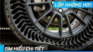 Tìm hiểu LỐP KHÔNG HƠI của Michelin   Không thể xẹp hoặc nổ lốp   XE24