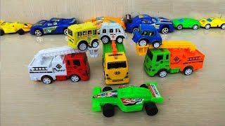 Colours for Children to Learn with Car Toys Seven Color Toys #16