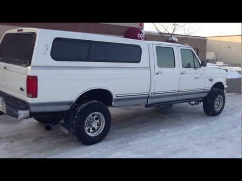 1997 FORD F350 CREW CAB LONGBED XLT 4X4 7.3 POWERSTROKE TURBO DIESEL - FOR SALE