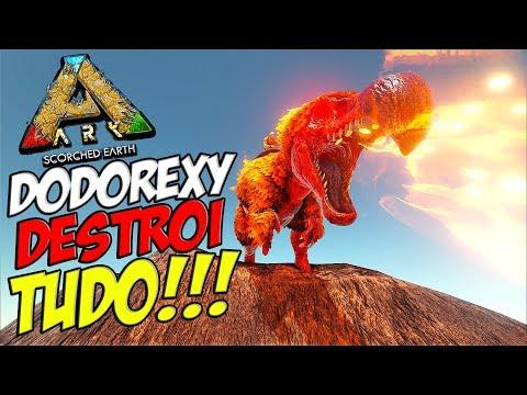 NOSSO DODOREXY DE FOGO É MUITO F***!!! SUPER FOGO!!!   ARK EXTINCTION T2 #12