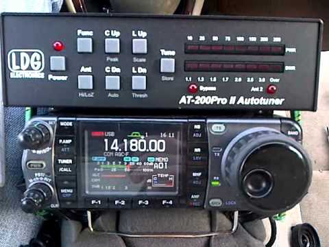 HF Mobile to Mobile QSO Eastern USA K2IL to N2YDD 20 Meters