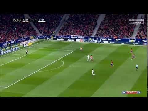 Juanfran vs Cristiano Speed (18/11/2017) Atletico Madrid vs Real Madrid thumbnail