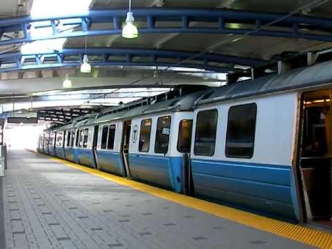 Boston Blue Line Train...