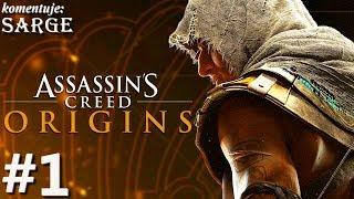 Zagrajmy w Assassin's Creed Origins [PS4 Pro] odc. 1 - Niezwykła historia Bayeka z Siwy