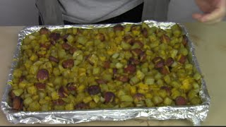 Oven Roasted Smoked Sausage and Potatoes - DTRATG?