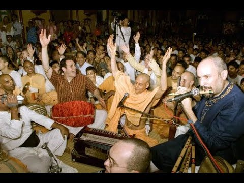 Radhanath Swami - Hare Krishna Kirtan - Iskcon Mayapur - February 15, 2007-480p.mp4 video