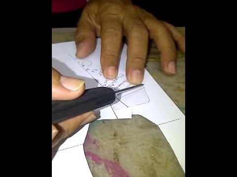 Proceso de elaborar Clasico Mocasin Recto con tecnica Brasilera