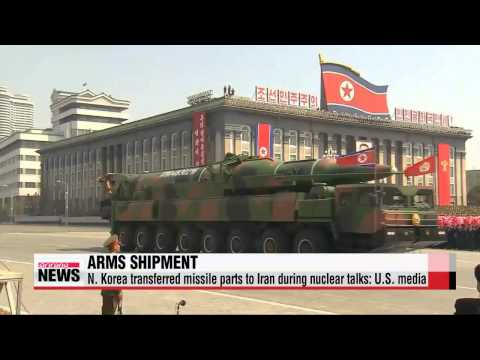 N. Korea transferred missile goods to Iran during nuclear talks: Free Beacon   미
