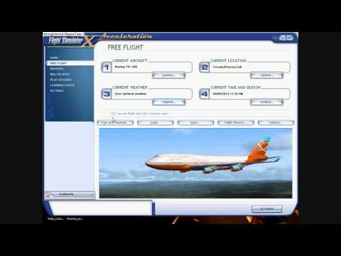 unboxing and review of microsoft Flight Simulator X Gold Edition part 2.1 HD