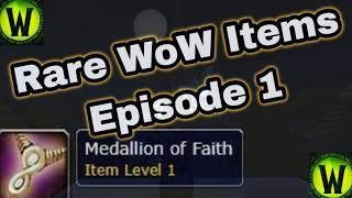 Medallion of Faith - Rare World of Warcraft Items
