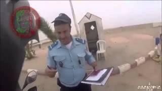 Police bribing in Morocco