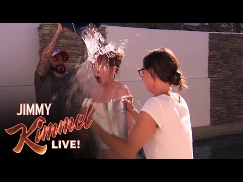 Kathy Griffin's NUDE ALS Ice Bucket Challenge
