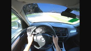 2012 BMW X3 xDrive 20d (184) POV TEST DRIVE