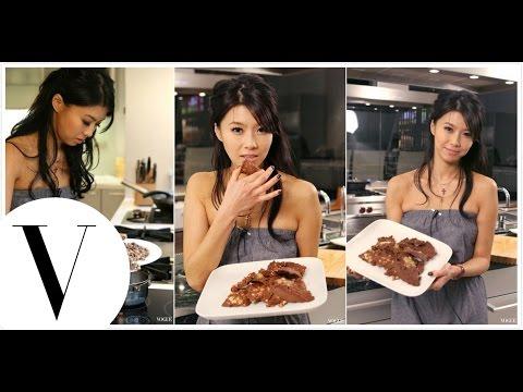 孫瑩瑩的美女廚房:薄荷核桃巧克力片 第1集