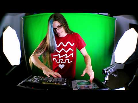 Live Drumstep MPC/Kaoss Pad Remix: Into Your Eyes Music Videos