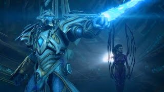 Infinite Cycle: Artanis and Kerrigan Explore Temple of Unification (Starcraft 2 | Protoss)