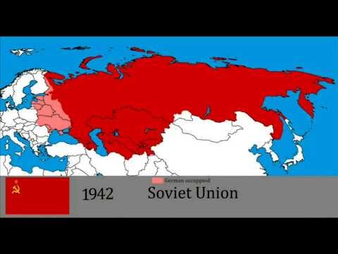 КАК МЕНЯЛАСЬ ТЕРРИТОРИАЛЬНАЯ ГРАНИЦА РОССИИ ЗА 1000 ЛЕТ / the history of Russia