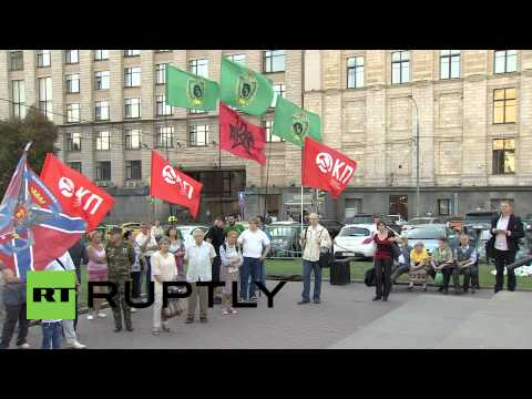 Russia: Rally urges Moscow to take action in eastern Ukraine