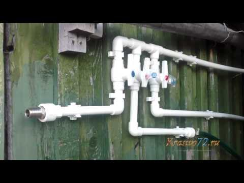 Монтаж водопровода из пластиковых труб своими руками 9
