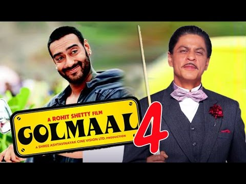 Shah Rukh and Ajay Devgan in Golmaal 4 thumbnail
