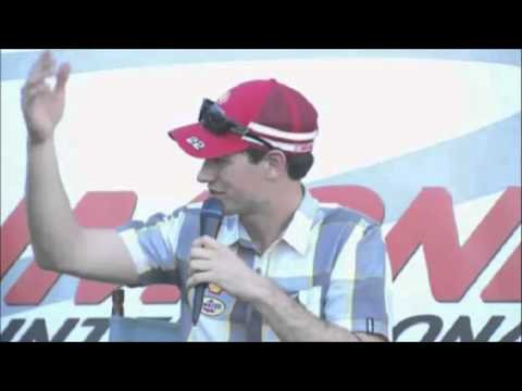 Joey Logano/Brad Keselowski Richmond NASCAR Video Q&A