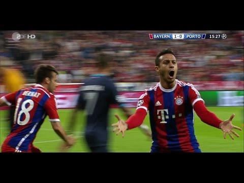 Thiago Alcantara  vs Porto 21/04/2015 (Home) HD