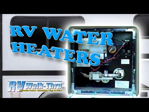 rv walk thru water heaters learn about your rv water heater how to make do everything