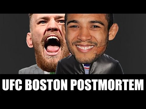 UFC BOSTON POSTMORTEM!!!
