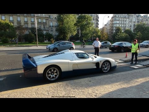Maserati MC12 + Aston Martin V8 V600 LM + Carrera GT seized by the police !!!
