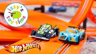 Hot Wheels 30 Foot Slot Track Playset | Fun Toy Cars for Kids
