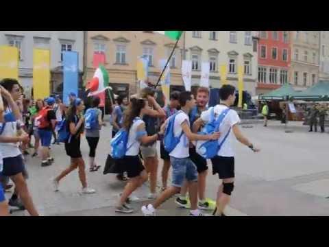 ITALIA NA ŚWIATOWYCH DNIACH MŁODZIEŻY KRAKÓW 2016