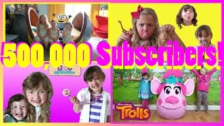 500 000 SUBSCRIBERS THANK YOU | Half a Million Subscribers + best bits | The Disney Toy Collector