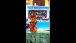 """Rei Bella (4 yrs. old) Singing """"Sana'y Pag -ibig na lang"""" by: Tina Paner"""