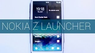 Nokia Z Launcher - Less Tapping More Apping (Working with root)