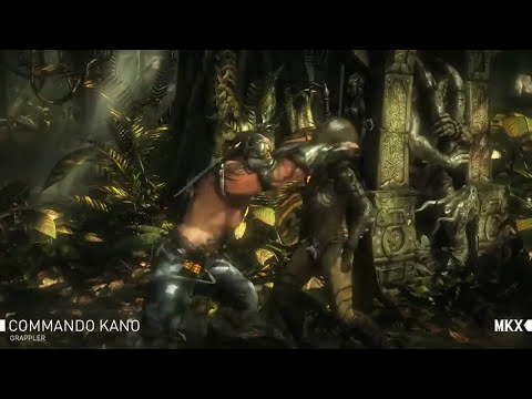 Mortal Kombat X - Kano Gameplay Trailer