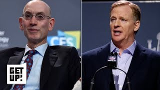 Adam Silver manages controversy better than Roger Goodell | Get Up!