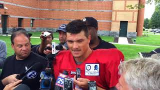 Former Penn State quarterback Christian Hackenberg discuses signing with Philadelphia Eagles