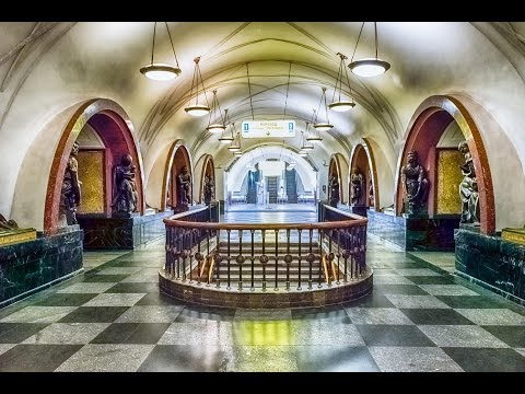 Russia visa-free: Moscow Metro in 360 degrees