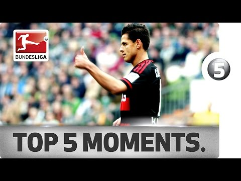 Top 5 Chicharito Moments So Far