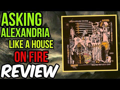 Download  Asking Alexandria: Like a House on Fire -- ALBUM REVIEW Gratis, download lagu terbaru