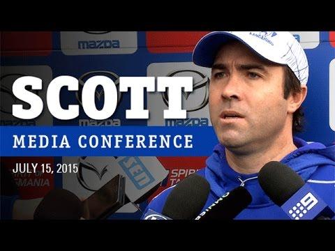 July 15, 2015 - Brad Scott media conference