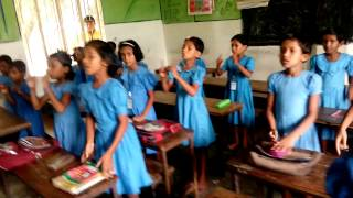 Two Little Black Birds (Dangarhat Primary School)