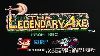 The Legendary Axe (TurboGrafx 16) Speedrun - Without dying