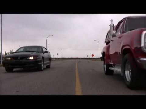 1997 Ford Mustang vs 1979 Dodge Lil Red