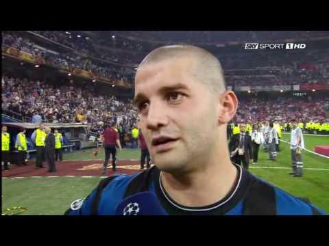 Intervista a Christian Chivu dopo il Finale della Champions League