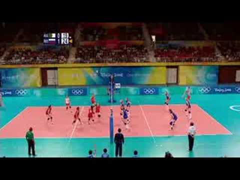 Algeria vs Russia - Women's Volleyball - Beijing 2008 Summer Olympic Games