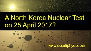 North Korea Nuclear Weapons Test 25 April 2017