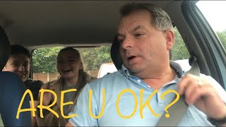 DADS PRICELESS REACTIONS TO LEARNER DRIVER