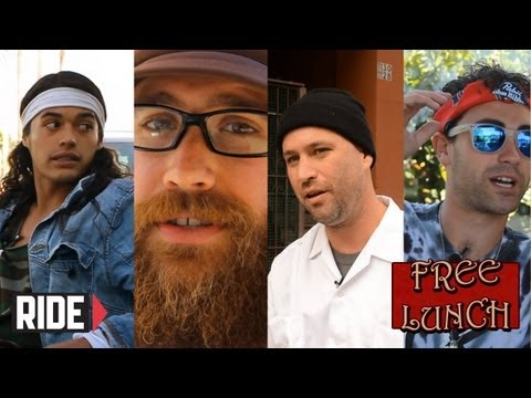 David Gonzalez, Chris Senn, Sinner, and Andrew Cannon on Free Lunch Extras